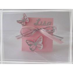 Boîte à dragées Papillon